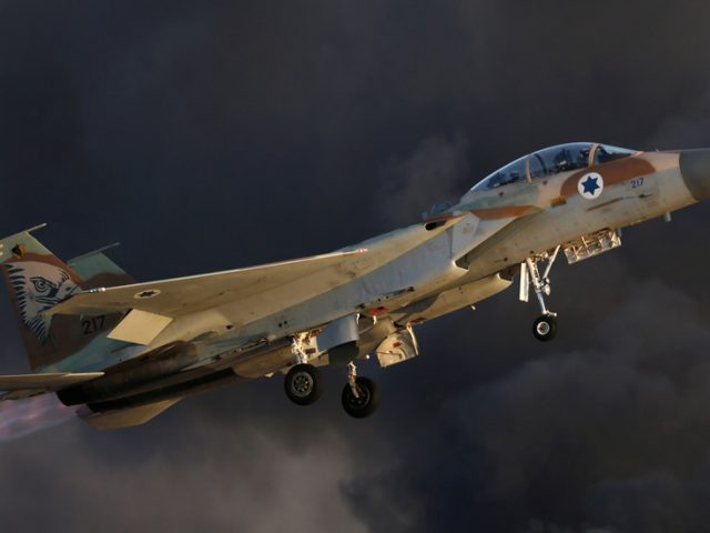 Israel strikes Syrian military targets near Damascus, IDF calls it 'response' to failed border attack