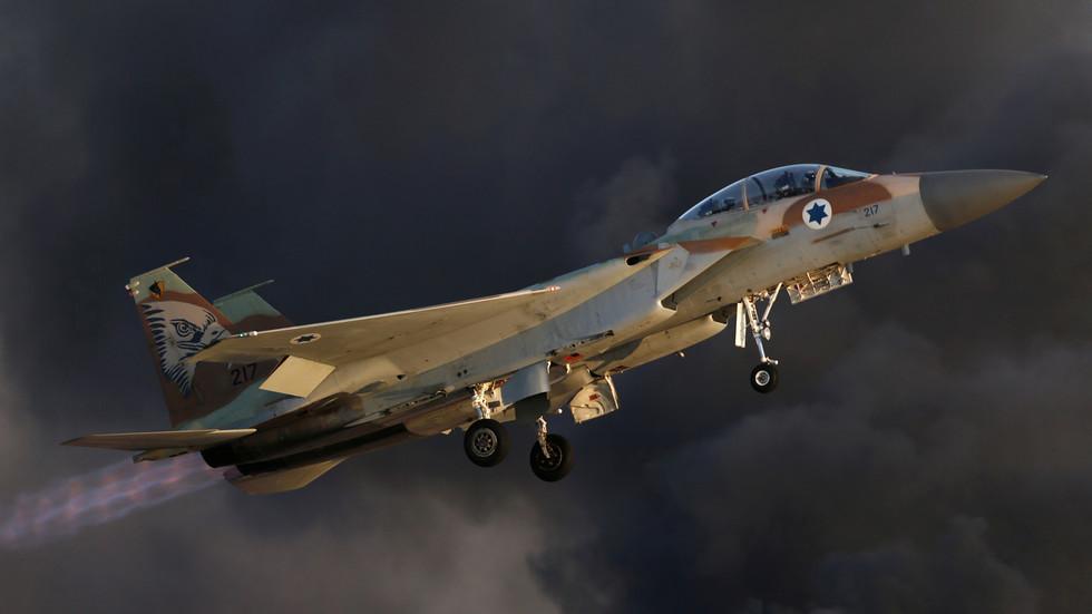 Israeli jets bombed several