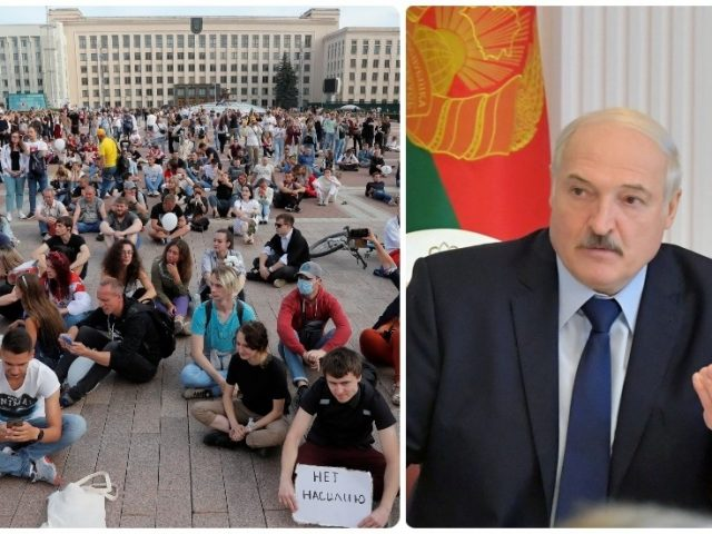 Belarus' Lukashenko says he is being targeted by 'color revolution', seeks to join forces with Putin