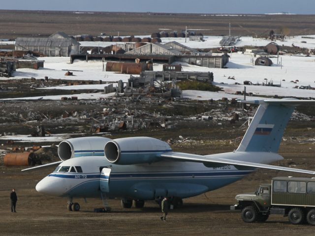 Airfields made from ice? New Russian technology promises to allow military transporters to touch down inside Arctic Circle