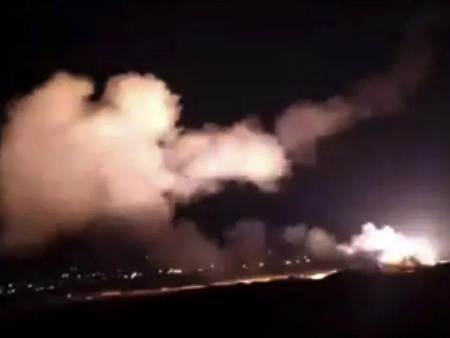 Syrian Air Defenses Intercept 'Hostile' Targets Over Damascus, IDF Confirms Multiple Strikes