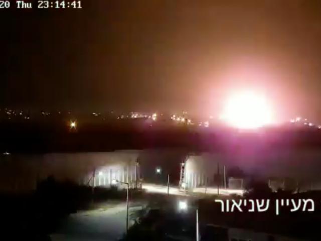 Israel strikes 'underground terror infrastructure' in Gaza in retaliation for 'explosive balloons' (VIDEOS)