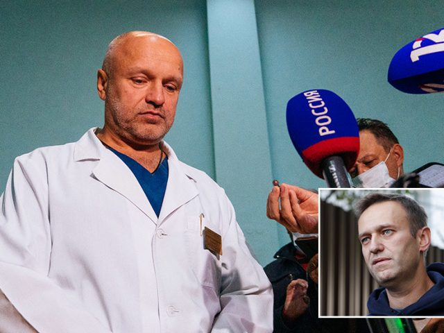 Doctor who treated Alexey Navalny in Omsk claims he received threats online directed at himself & his children