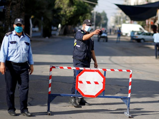 Gaza Strip goes into lockdown as it starts battling its 1st Covid-19 outbreak