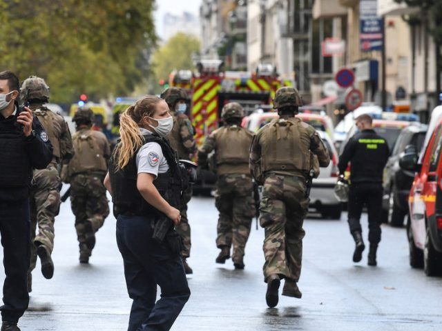 People injured in stabbing near former offices of Charlie Hebdo magazine in Paris, anti-terrorist unit joins probe