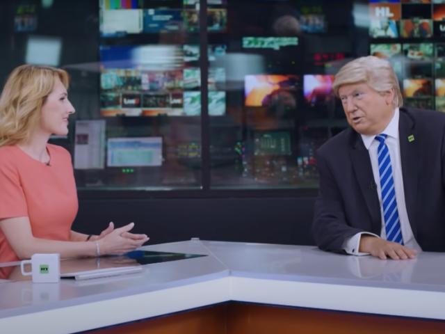 Bizarre & deeply disturbing': MSM think that RT's Trump deepfake parody is ADMISSION he is 'Putin's pawn'