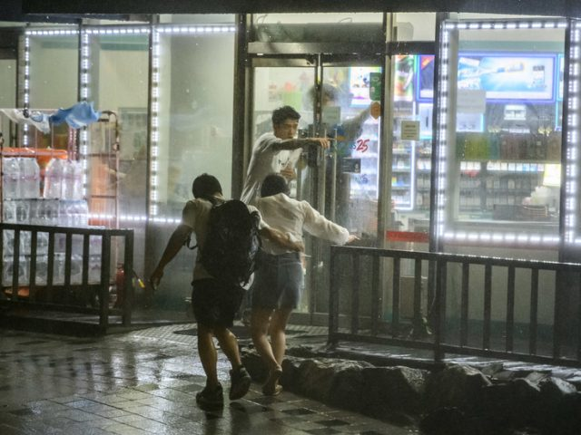 1 person killed as typhoon rips through South Korea, shattering windows and leaving homes without electricity (PHOTOS, VIDEO)