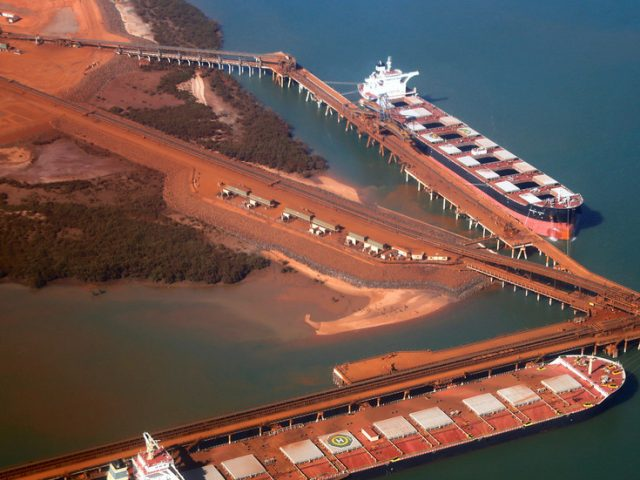 Australia sends troops to help contain Covid-19 outbreak on ore ship near Port Hedland