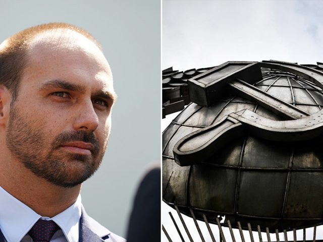Bolsonaro Jr. wants jail time for hammer and sickle: Brazilian president's son proposes to equate communist symbols with Nazi ones