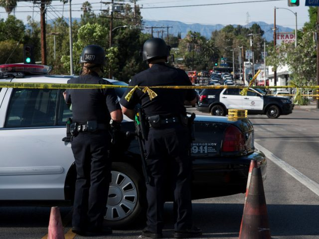 'Animals that must be hit hard!': Trump unloads after gunman ambushes & shoots LA sheriff's deputies at point blank range