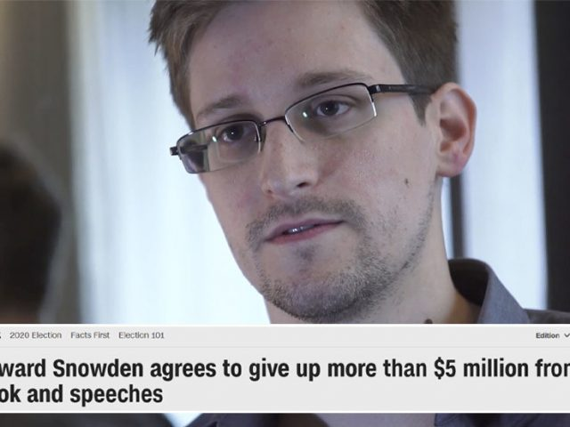'CNN badly misreported this': Edward Snowden debunks news story reporting he 'agreed' to give money from his book to US government