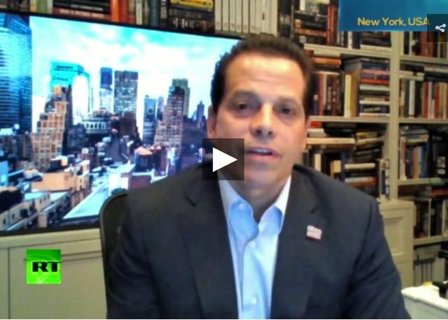 Trump's ex-Comms. Director Anthony Scaramucci: Trump administration has become a NIGHTMARE