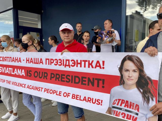 Venezuela scenario at play? Lithuania recognizes exiled opposition figurehead Tikhanovskaya as 'elected leader' of Belarus