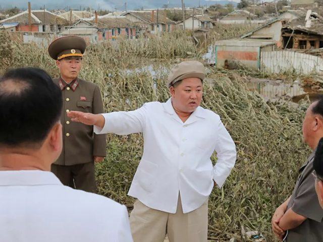 North Korea's Kim Orders Pyongyang to Aid Typhoon-Hit Northeastern Provinces, State Media Says