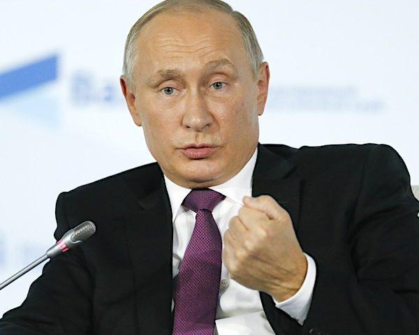 Putin Nominated for Nobel Peace Prize