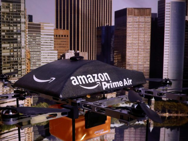 World's richest man, who has history of working with the CIA, gets official approval to unleash Amazon drones on the US