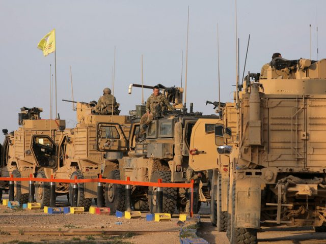 Washington deploys armored vehicles to Syria & steps up air patrols after dust-up with Russian forces
