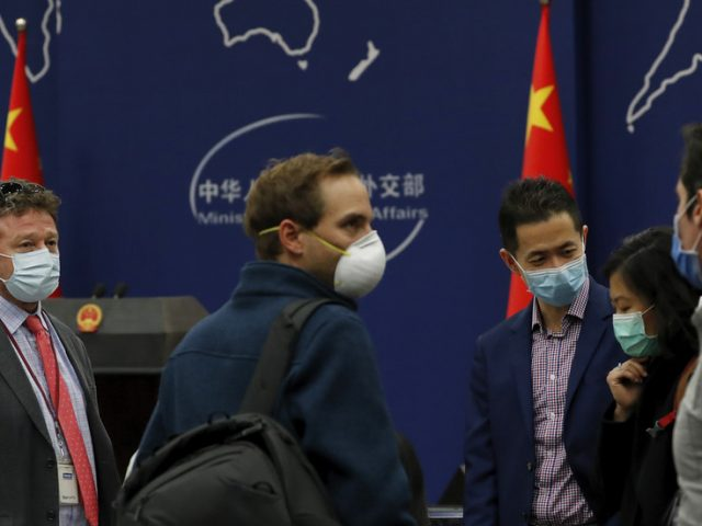 Beijing 'to continue excellent cooperation with US journalists' if Chinese reporters are treated fairly