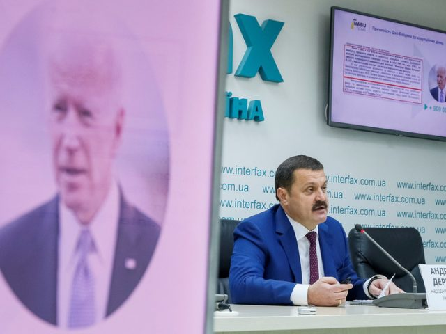 US sanctions Ukrainian lawmaker who published Biden-Poroshenko tapes for 'Russian influence' in presidential election