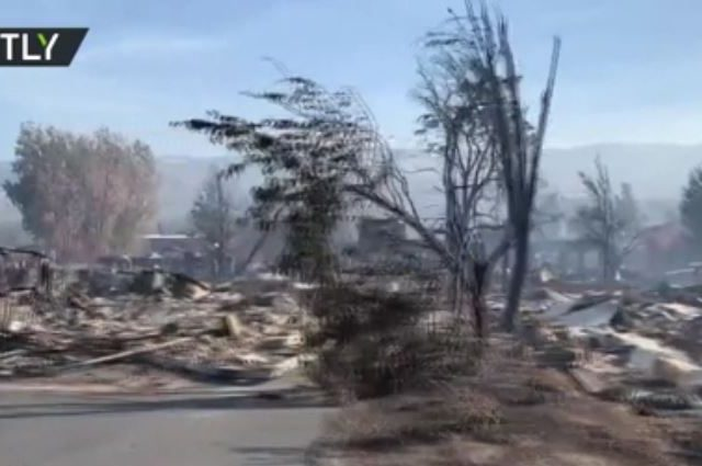 WATCH: Houses burned down, neighborhoods left in ashes by devastating Oregon wildfires