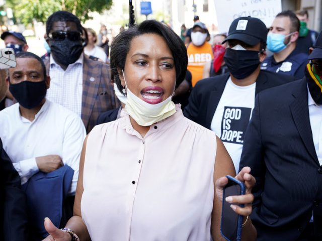 Church sues pro-BLM DC mayor Bowser over 'celebrating mass protests' while keeping ban on 100+ OUTDOOR worships