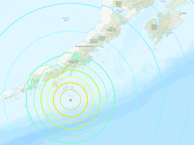 7.5 magnitude earthquake hits off Alaska coast, triggering tsunami warning