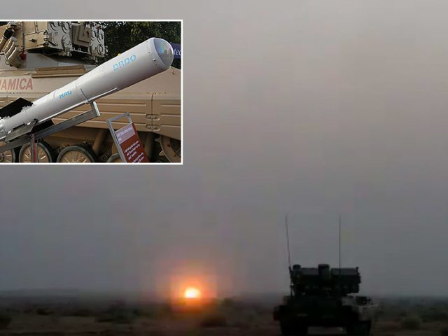 India completes successful test of its own 3rd-gen anti-tank missile, in bid to end reliance on foreign weapons