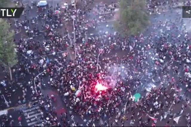WATCH Chileans celebrate as voting signals end of Pinochet-era constitution