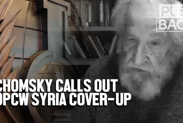 Chomsky: OPCW cover-up of Syria probe is 'shocking'
