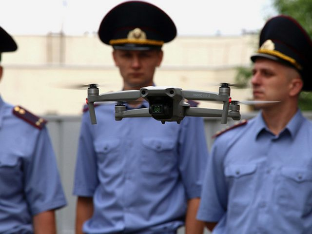 While Brussels publicly condemned violent Belarus protest crackdown, EU funds paid for 15 surveillance drones in Minsk