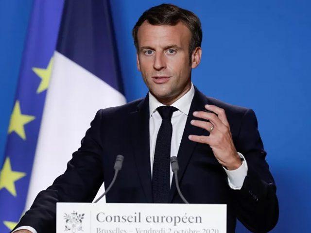 French President Macron Says 300 Syrian Militants Sent to Baku via Turkey