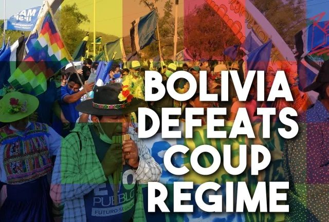 How Bolivia fights fascism – It takes more than the ballot box