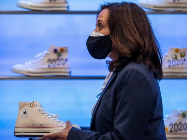 'So cringeworthy': Kamala Harris accused of 'pandering' after doing a promo about her sneakers amid election campaign