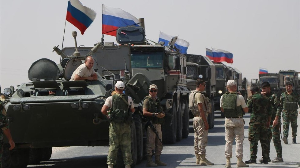 Thanks to Russian forces,