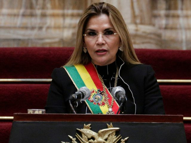 Bolivia's former 'interim president' and coup government ministers could face trial over 2019 crackdown on protesters