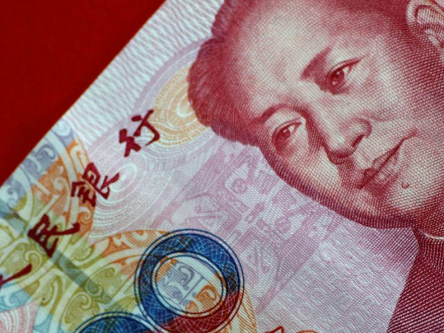 Move over dollar: Chinese yuan ends quarter with biggest gains in 12 years