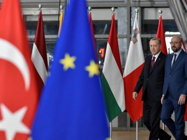 EU deals blow to Turkey's membership bid, saying talks 'effectively at standstill'
