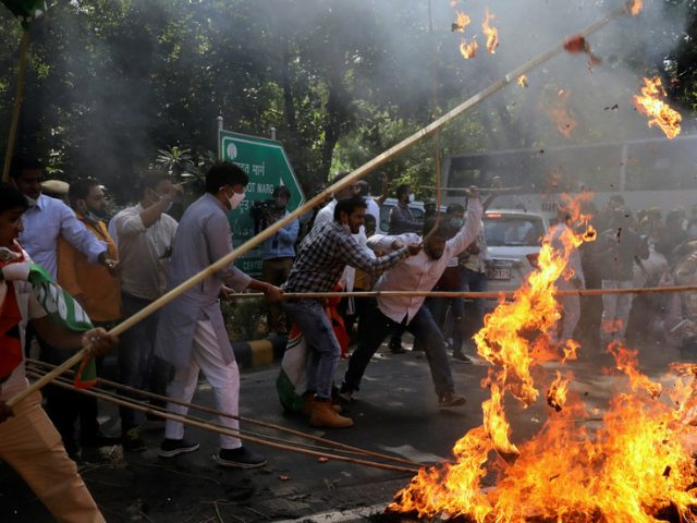 WATCH: Protests sweep India after police allegedly cremate 19yo gang-rape victim's body without family's permission