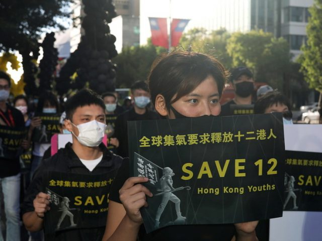 China to charge 12 anti-government protesters caught fleeing Hong Kong in speedboat