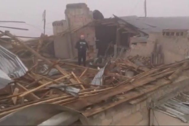 'I opened my eyes and only saw dust': Nagorno-Karabakh's largest city slowly recovers from shelling (VIDEO)