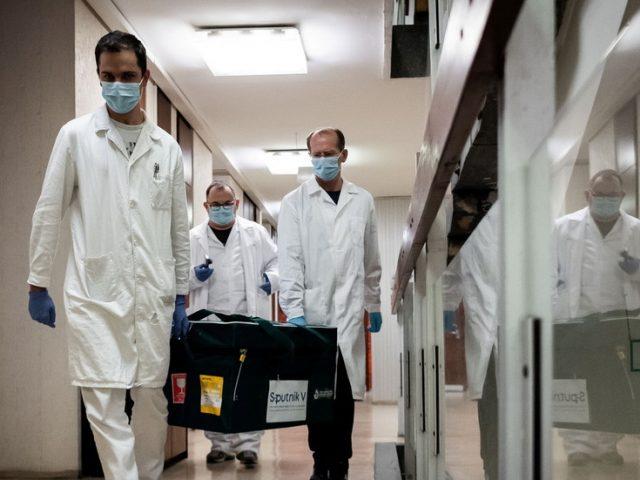 WATCH first European nation get Russia's Sputnik V vaccine against Covid-19