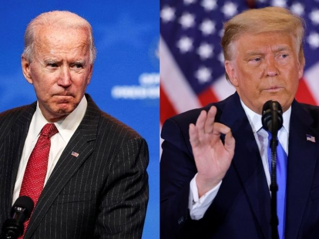 Biden says Americans WON'T STAND for election results not being 'honored,' while Trump says it 'must be turned around'