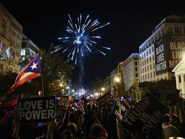 Agony & Ecstasy: Streets Across US Witness Protests as Biden-Harris Projected to Win Election