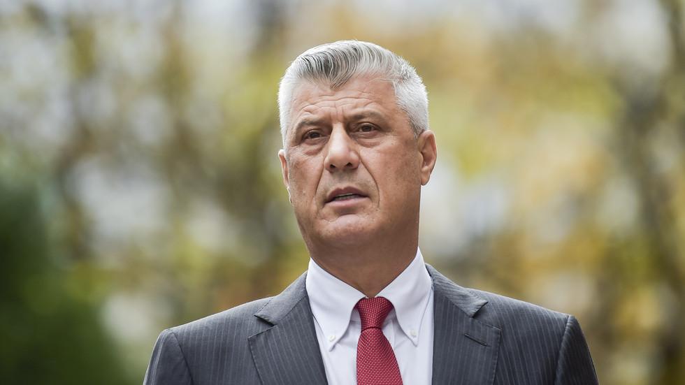 Kosovo's president,