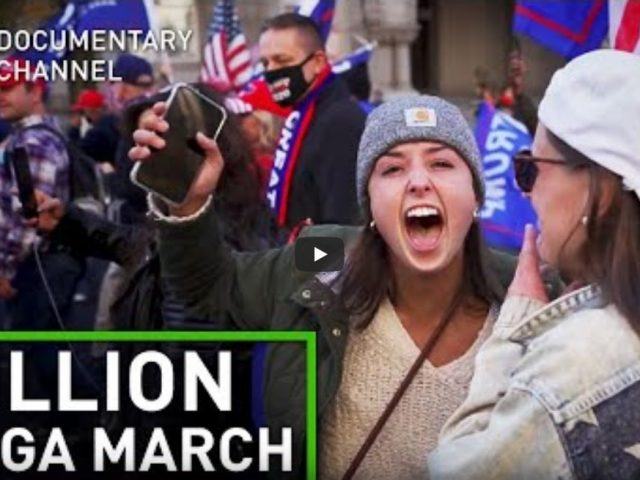 Inside huge pro-Trump rally in Washington, DC (Million MAGA March) | Raw Cut