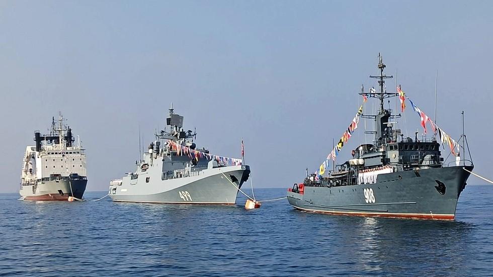 Russian Navy logistics