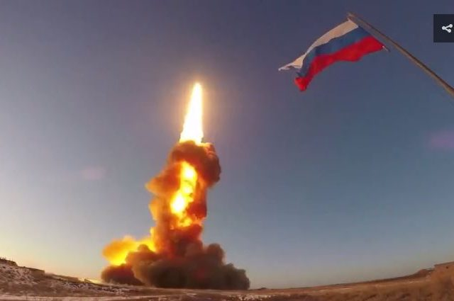 Another successful test: Russia's latest anti-ballistic missile system roars into the skies over Kazakhstan (VIDEO)