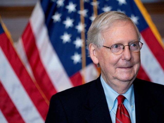 McConnell does not acknowledge Biden victory, says Trump '100% within his rights' to legally fight