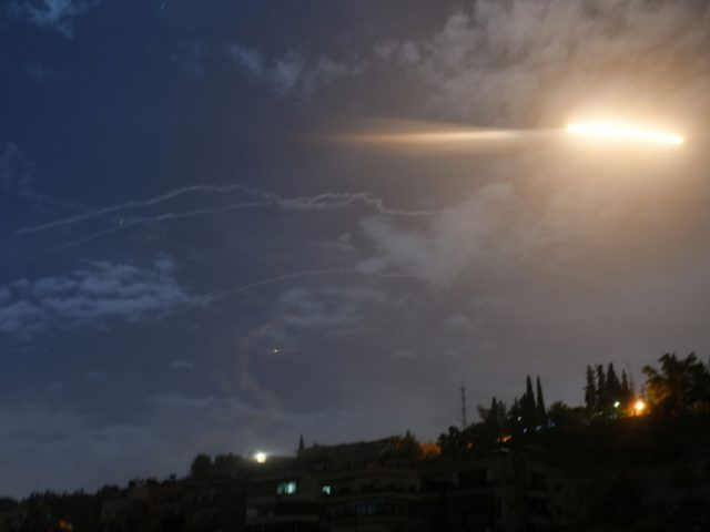 Syrian state media reports 'Israeli aggression' near Damascus & in southern Quneitra
