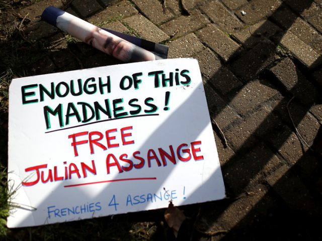 Covid-19 lockdown declared at Belmarsh prison holding Julian Assange – partner fears his life is in 'serious risk'